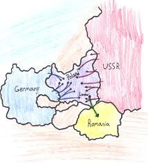 Map Of Poland And Germany by Bussgang