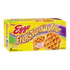 Eggo Toaster Waffles Kellogg U0027s Eggo French Toast Waffles Reviews