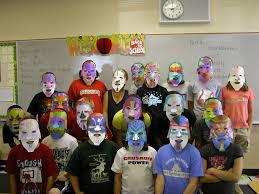 coon rapids bayard public schools aztec masks