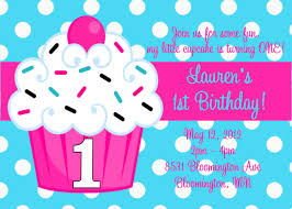 cupcake birthday invitations kawaiitheo com
