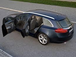 opel insignia wagon trunk opel insignia sports tourer 2009 3d model sedan opc 3ds max fbx