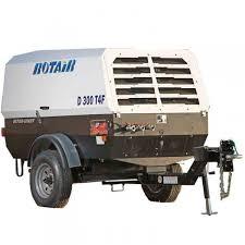 rotair air compressor diesel portable air compressor