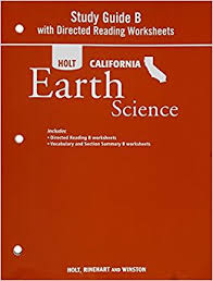 holt science u0026 technology california study guide b with directed