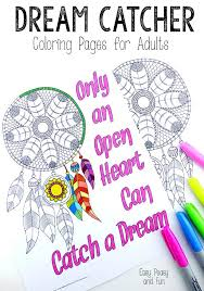 easy peasy coloring page dream catcher coloring pages for adults easy peasy and fun