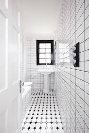 Small Bathroom Laundry Small Black And White Bathroom Renovation From Insideout Com Au