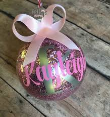 personalized ornaments name ornaments