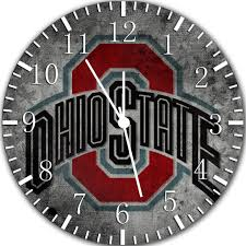 mesmerizing ohio state wall clock 42 ohio state neon wall clock