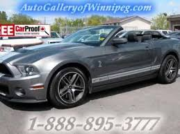 used ford mustang 2010 used 2010 ford mustang shelby gt 500 convertible for sale
