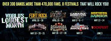 Bud Light River City Rockfest Dates And Venues Set For World U0027s Loudest Month 2017 Rock On The