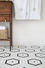 37 black and white mosaic bathroom floor tile ideas and pictures