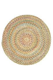 Indoor Outdoor Round Rugs by Amber Ocracoke Braided Chenille Rug Cottage Home