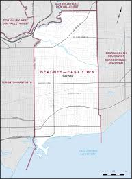 Southwest Canada Map by Beaches U2013east York Maps Corner Elections Canada Online