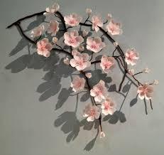 cherry blossom decor ceramic cherry blossom are pretty