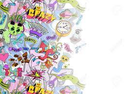 graffiti design graffiti background template design royalty free cliparts vectors