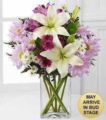 Flower Alt Code - lavender fields mixed flower bouquet vase included