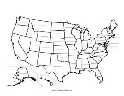 map usa states template coloring activity pages united states map template map