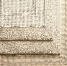 Restoration Hardware Bath Mats Woven Bath Rugs
