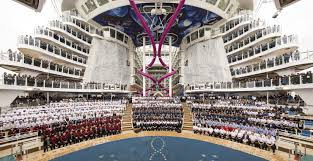harmony of the seas by the numbers royal caribbean connect