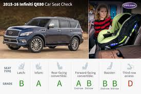 lexus qx80 2016 2016 infiniti qx80 car seat check news cars com