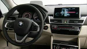 bmw inside view 2014 bmw 2 series active tourer interior youtube