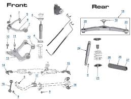 2010 jeep liberty parts jeep liberty replacement suspension parts liberty suspension
