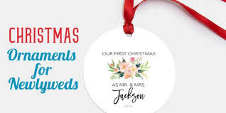 best ornaments for newlyweds a cozy home