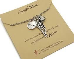 Condolence Gift Ideas Angel Mom Memorial Necklace Memorial Gift Idea Remembrance