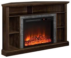 Corner Electric Fireplace Tv Stand The Electric Fireplace Tv Media Consoles Inside Corner
