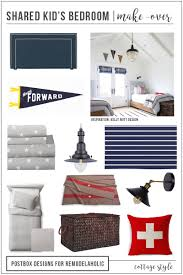 remodelaholic how to create a gender neutral shared kids u0027 bedroom