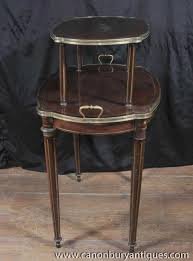 Antique Etagere French Empire Antique Etagere Table Two Tiered Side Tables 1890 Ebay