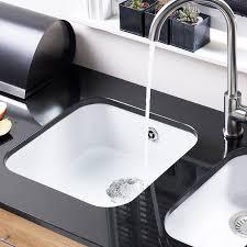 undermount ceramic kitchen sink astracast 4040 lincoln undermount ceramic kitchen sink sinks taps com