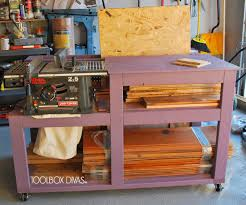 table saw workbench plans diy projects table saw workbench