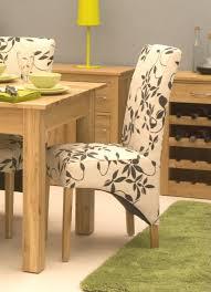 furniture fascinating modern design x floral fabric dining