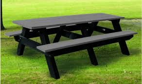 recycled plastic picnic tables westin recycled plastic tables barco products