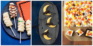 Homemade Halloween Treats To Give Out by 33 Easy Halloween Treats Fun Ideas For Halloween Treat Recipes