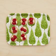 christmas tree small tray by thornback u0026 peel