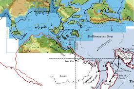 World Map With Equator Lining Up Mystara Xii U2013 Thorfinn Tait Cartography