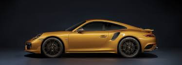 porsche yellow golden yellow porsche 911 turbo s exclusive series limited to 500