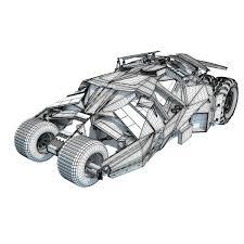 batmobile tumbler 3d model u2013 3d horse