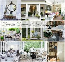 Summer Porch Decor by Favorite Summer Porches City Farmhouse