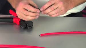spark plug wire crimping youtube