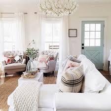 Powder Blue Curtains Decor Farmhouse Inspiration Traditional Meets Farmhouse White