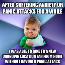 Panic Attack Meme - livememe com success kid