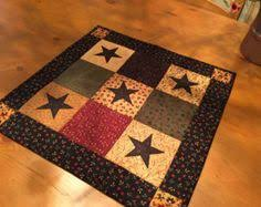 Primitive Table Runners by Quilted Table Topper Scrappy Stars Primitive By Quiltedbyval