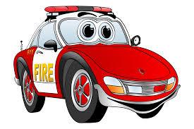cartoon race car fire truck clipart race car pencil and in color fire truck