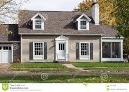 cape cod house with screened in porch stock photo image 62373491