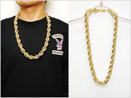 gold chain necklace rope images Solt and pepper no brand rope chain necklace gld no brand rope jpg