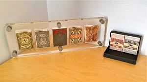 playing card display case clear acrylic youtube