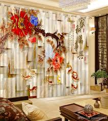 curtains for livingroom 2017 chinese modern window curtain photo 3d curtains for living