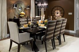 Black Dining Room Furniture Decorating Ideas Inspiration Idea Brown Dining Room Decorating Ideas Modern Brown